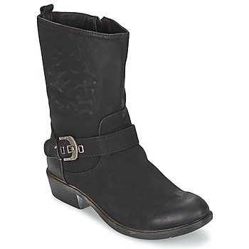 Zapatos Mujer Botas de caña baja Spot on GANIA Negro