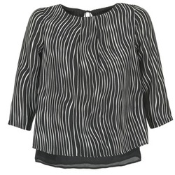textil Mujer Tops / Blusas Betty London FADILIA Negro / Blanco