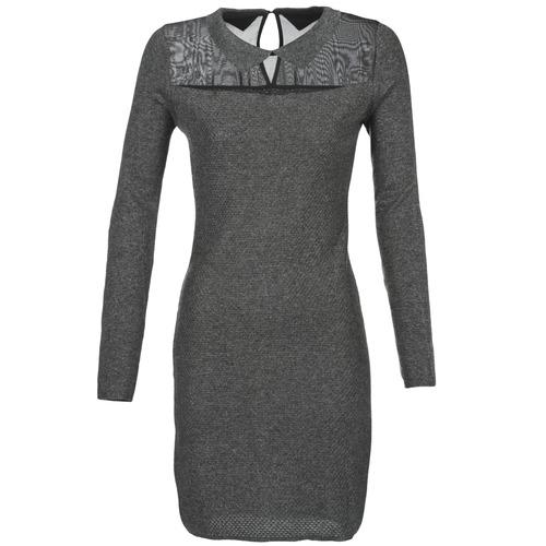 Betty London FLOUELLE Gris - Envío gratis | ! - textil vestidos cortos Mujer