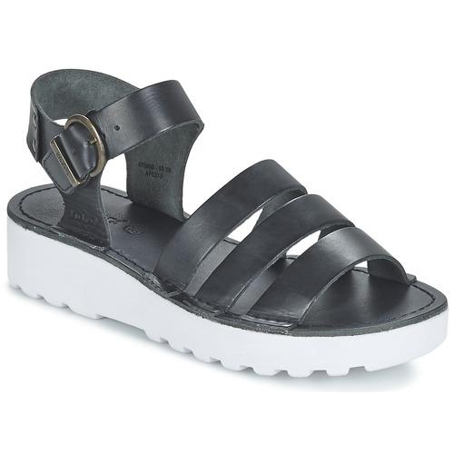 Zapatos Mujer Sandalias Kickers CLIPPER Negro