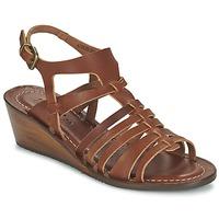 Zapatos Mujer Sandalias Kickers FASTA Marrón