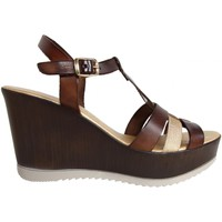Zapatos Mujer Sandalias Cumbia 30132 Marr?n
