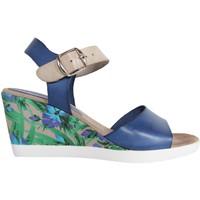 Zapatos Mujer Sandalias Cumbia 30150 Azul