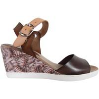 Zapatos Mujer Sandalias Cumbia 30151 Marrón
