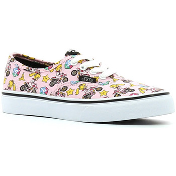 Zapatos Niña Zapatillas bajas Vans Authentic Princess peach Nintendo rosa
