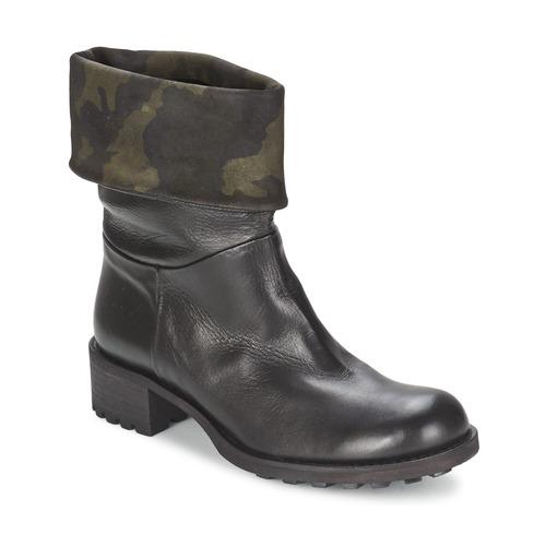 Zapatos Mujer Botas de caña baja JFK TARZAN Negro