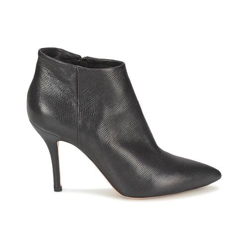 Low Negro Boots Lizard Zapatos Mujer Jfk PXZkiOu