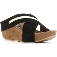 Zapatos Mujer Zuecos (Clogs) Le Chicche IF5723 Wedge sandals Mujeres Black Black