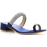 Zapatos Mujer Chanclas Le Chicche 402H1 Flip flops Mujeres Blue Blue