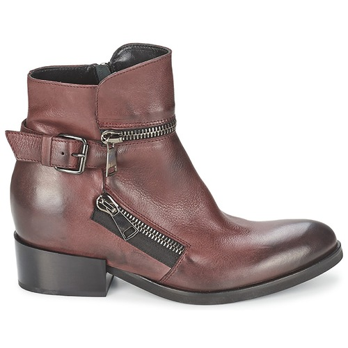 Zapatos Botines Burdeo Strategia Mujer Zooli mN8vw0On
