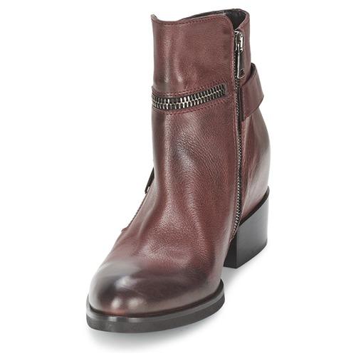 Botines Zooli Mujer Strategia Zapatos Burdeo dBCxthoQsr
