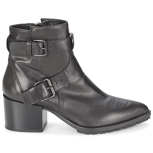 Mujer Strategia Negro Zapatos Fucile Botines nP8kX0ONwZ