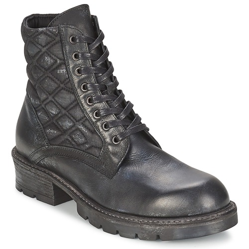 Zapatos Mujer Botas de caña baja Strategia BOMBER Negro