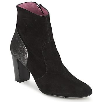 Zapatos Mujer Botines Studio Paloma BABY SILK Negro