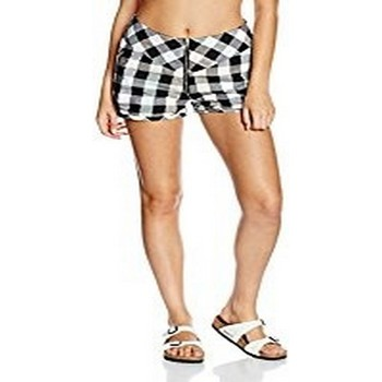 textil Shorts / Bermudas Nikita NIKITA ALBITE SHORTS NEGRO/BLANCO Negro con Blanco