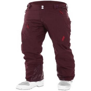 textil Pantalón cargo Maloja CanunM. Ski Touring Pants root Rojo