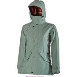 textil Mujer sudaderas Nitro Snowboards NITRO HAZELWOOD JACKET VERDE Verde