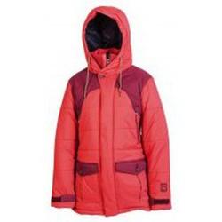 textil sudaderas Nitro Snowboards NITRO HAZELWOOD JACKET ROJO Rojo
