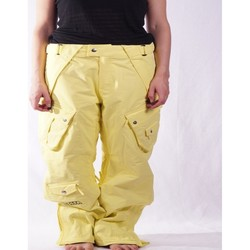 textil Pantalones Nikita Nikita Ionized Amarillo