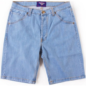 textil Hombre Shorts / Bermudas Lightning Bolt L.BOLT 5 POCKET BLEACHED DENIM WALKSHORT AZUL Azul