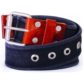 Accesorios textil Hombre Cinturones Lightning Bolt L.BOLT Canvas Belt. MOONLESS NIGHT Negro