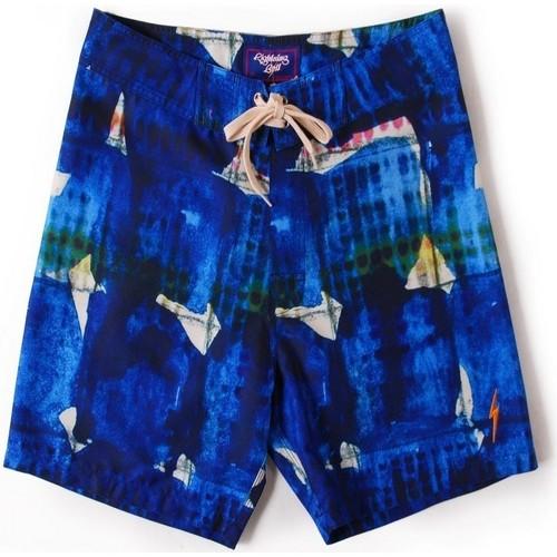 textil Hombre Bañadores Lightning Bolt L.Bolt Watercolor Tiles 18'' Azul