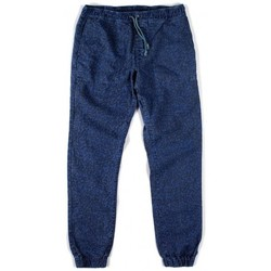 textil Hombre pantalones chinos Lightning Bolt L.BOLT Printed Hemp Cotton Shaka Pant Ensign Blue Azul