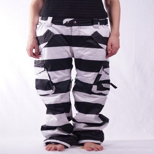 textil Pantalones Nikita Nikita Steamboat Blanco
