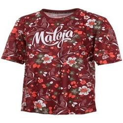 textil Mujer camisetas manga corta Maloja DoveM. FR 1/2 Freeride Shirt 1-2 CADILLAC Rojo