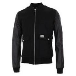 textil Hombre cazadoras Maloja ColeM. Leather JKT CHARCOAL Negro