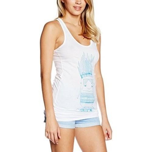 textil Camisetas sin mangas Nikita Nikita Mante Blanco
