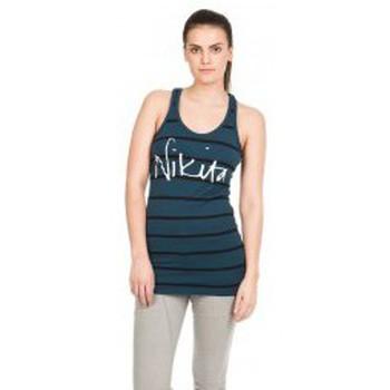 textil Mujer camisetas sin mangas Nikita NIKITA MARQUIS TANK AZUL Azul