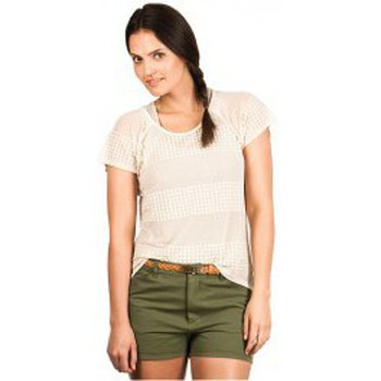 textil Mujer camisetas manga corta Nikita NIKITA FLUKE TOP BLANCO Blanco