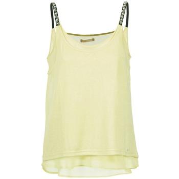 textil Mujer camisetas sin mangas Les P'tites Bombes BRICCOM Amarillo