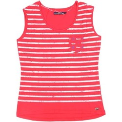 textil Mujer camisetas sin mangas Key Up S82Z 0001 Canotta Mujeres Red