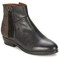 Zapatos Mujer Botas de caña baja Coqueterra PATRICE Negro