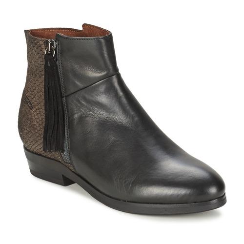 Nuevos zapatos para hombres y mujeres, descuento por tiempo limitado Coqueterra PATRICE Negro - Envío gratis Nueva promoción - Zapatos Botas de caña baja Mujer  Negro