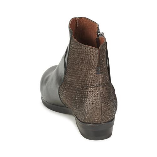 De Zapatos Patrice Botas Mujer Coqueterra Negro Caña Baja 3l1TuKJFc