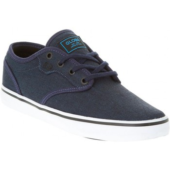 Zapatos Hombre Zapatos de skate Globe MOTLEY blue black Bleu