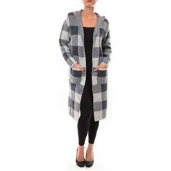 textil Mujer Chaquetas de punto De Fil En Aiguille Cardigan long K100 gris Gris