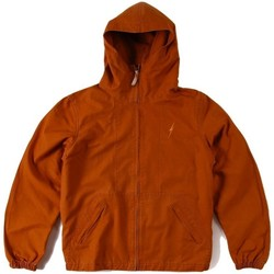 textil Hombre cazadoras Lightning Bolt L.BOLT Full Zip Windbreaker CATHAY SPICE Marron