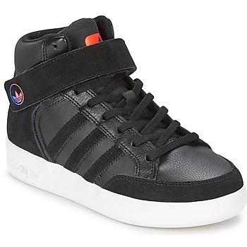 Zapatos Niños Zapatillas altas adidas Originals VARIAL MID J Negro / Rojo / Azul