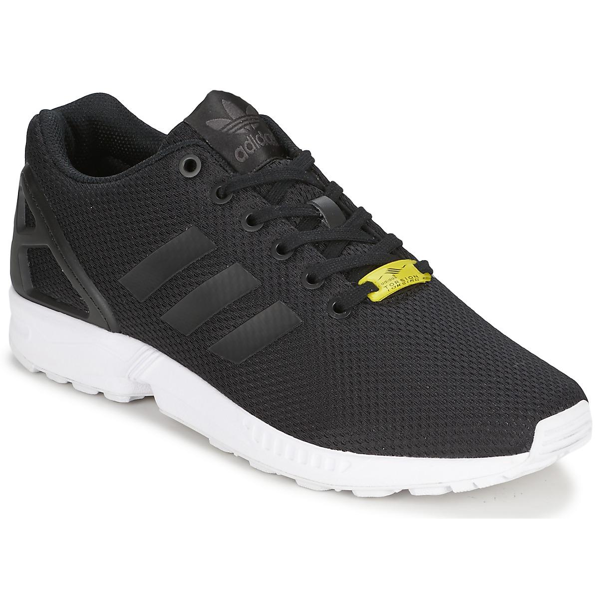002d7267c5188 adidas Originals ZX FLUX Negro   Blanco - Envío gratis con Spartoo.es ! -  Zapatos Deportivas bajas 66