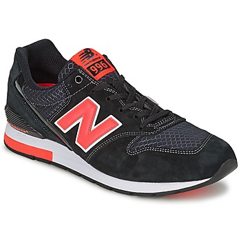 Zapatos Zapatillas bajas New Balance MRL996 Negro / Rojo