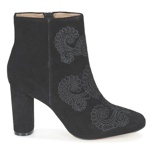 Elliot Mujer Botines Bocage Zapatos Negro XPkZiu