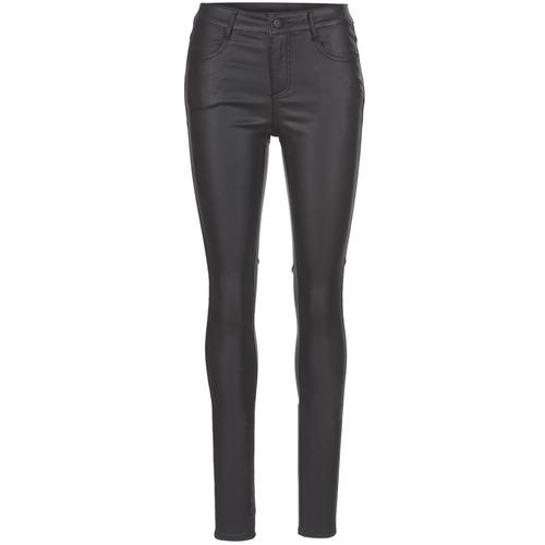 Vila VICOMMIT Negro - Envío gratis | ! - textil pantalones con 5 bolsillos Mujer