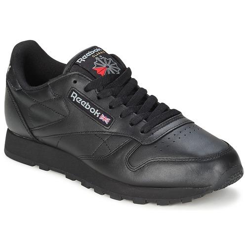 Zapatos Zapatillas bajas Reebok Classic CL LTHR Negro