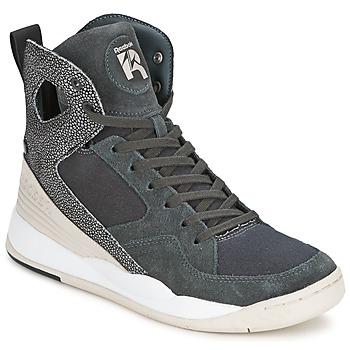 Zapatos Mujer Zapatillas altas Reebok Classic ALICIA KEYS COURT Gris / Blanco