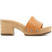 Zapatos Mujer Zuecos (Clogs) Keys 5527 Sandals Mujeres Cuoio