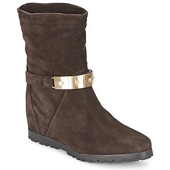 Botines / Low boots Alberto Gozzi VELOUR PEPE Marrón 350x350